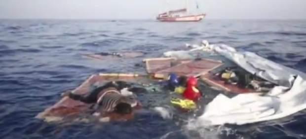 Open Arms denuncia que la Guardia Costera libia dejó morir a una mujer y un bebé en el Mediterráneo