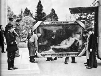 La Venus recreándose en la música, de Tiziano