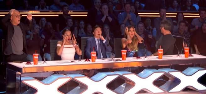 Accidente en 'America's Got Talent'