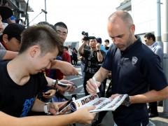Iniesta llega a Japón y se incorpora al Vissel Kobe