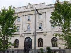 Antiguo edificio del Banco de España en Santander (Archivo)