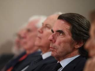 José María Aznar en una conferencia del Instituto Atlántico de Gobierno