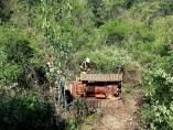 El hombre ha fallecido al caer su tractor por una ladera y quedar atrapado