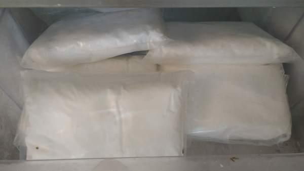 Metanfetaminas localizadas