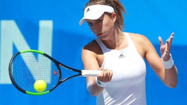 Paula Badosa en el torneo de Villa de El Espinar