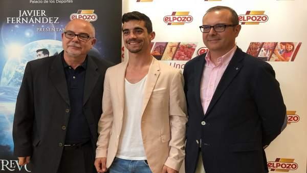 González y director de ElPozo acompañan a Fernández