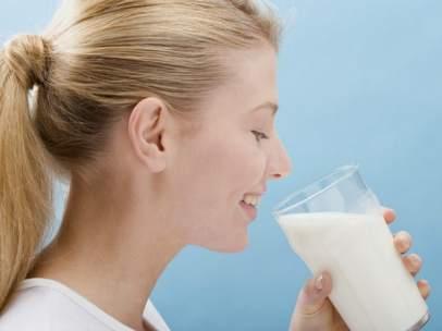 Un vaso de leche
