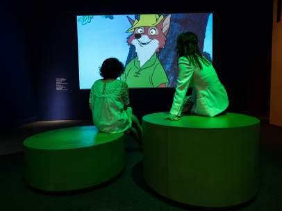 Uno de los espacios de la muestra 'Disney. El arte de contar historias'