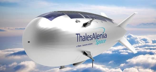 Zepelín de Thales Alenia Space