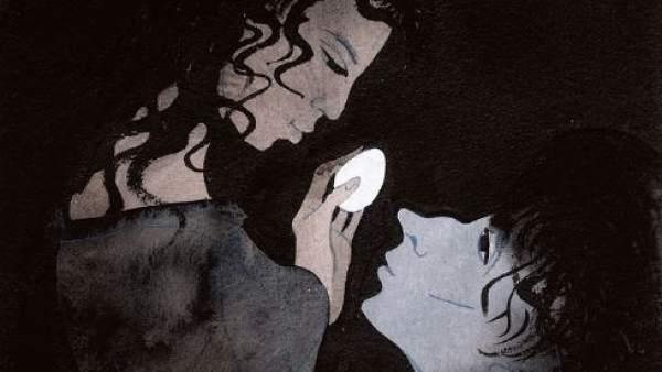 Ilustración para 'El cartero de Neruda', de Antonio Skármeta.