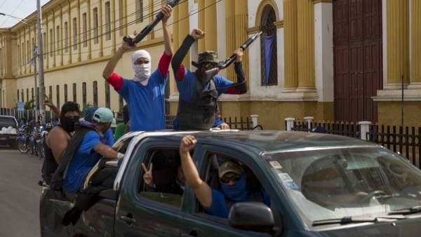 Ofensiva gubernamental en Masaya, Nicaragua