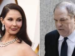 Ashley Judd y Harvey Weinstein