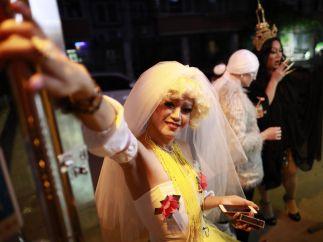 Primer espectáculo con 'drag queens' en la ciudad china de Pekín