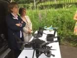 Drones de la DGT en Asturias