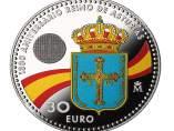Moneda 1.300 aniversario de la creación del Reino de Asturias