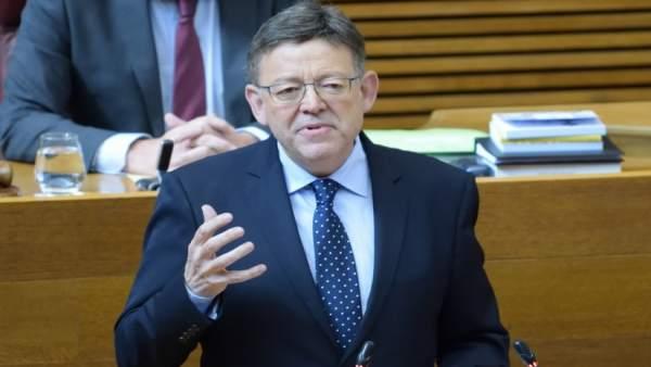 Puig incidirà en el finançament en la reunió amb Sánchez a Castelló