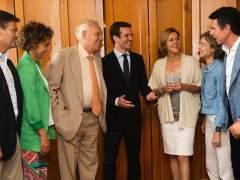 Casado y Santamaría alimentan la batalla por el liderazgo del PP