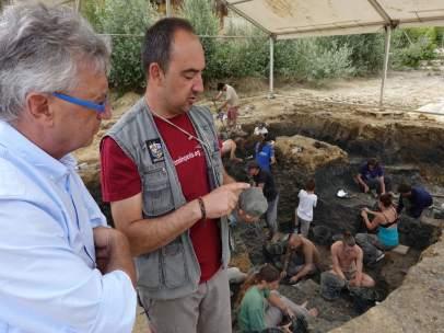 Los restos encontrados se han comparado con los hallados en Riodeva