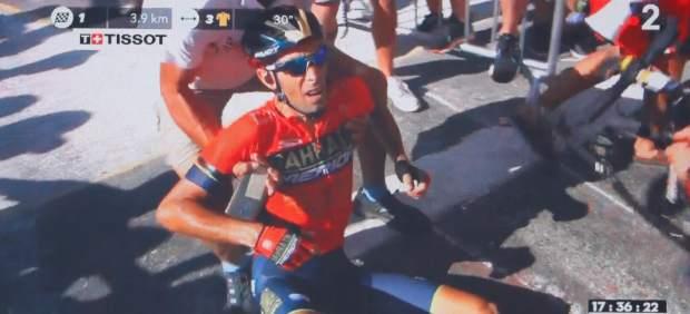 Nibali abandona el Tour tras fracturarse una vértebra en una caída