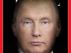 'Time' mezcla las caras de Trump y Putin en su portada
