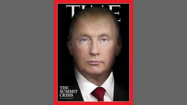 Trump y Putin en 'Time'