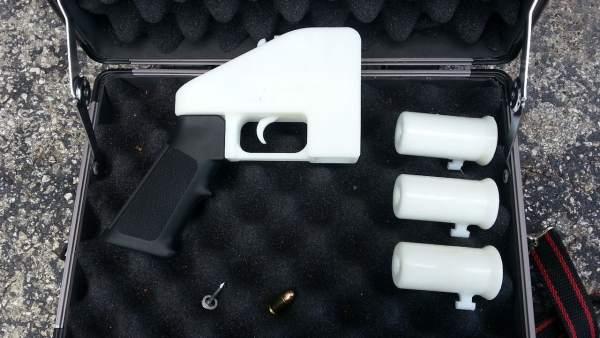 Una pistola impresa en 3-D