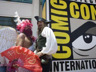 Llegada a la Comic Con