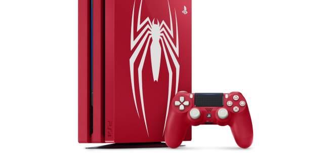 PS4 Pro con diseño de Marvel's Spider-Man