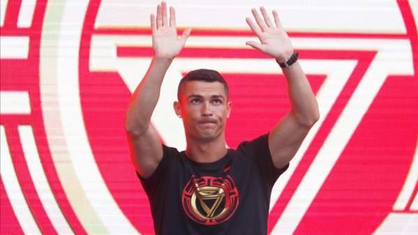 Cristiano Ronaldo, en China