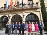 Los miembros del Consell se reúnen en Castalla