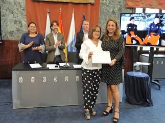 [Grupocanarias] Nota De Prensa Y Fotografías: Empleo Premio Gobierno De Canarias