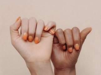 Campaña de una laca de uñas