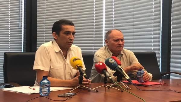 Valladolid. UGT y CCOO