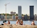 Ola de calor en Estocolmo