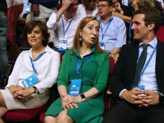Los candidatos a liderar el PP