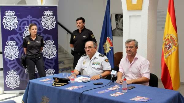 Rueda de prensa sobre plan Turismo Seguro en Estepona