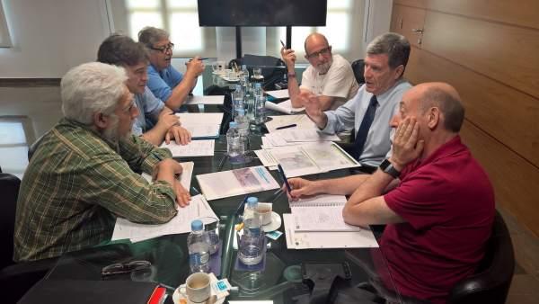 La reunión se ha celebrado este viernes en el Puerto de Valencia