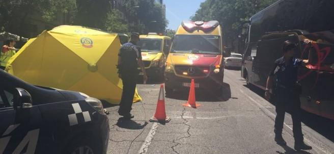 Accidente calle Alcalá