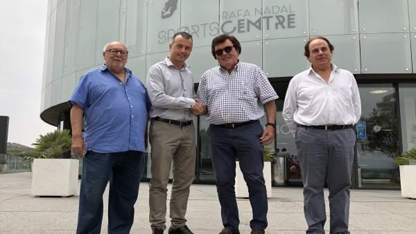 La FFIB y el Rafa Nadal Sports Centre firman un convenio