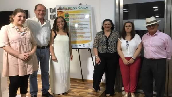 Presentación de la programación en El Rocío