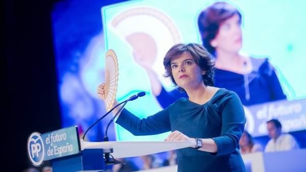 Intervención Soraya Sáenz de Santamaría Congreso PP