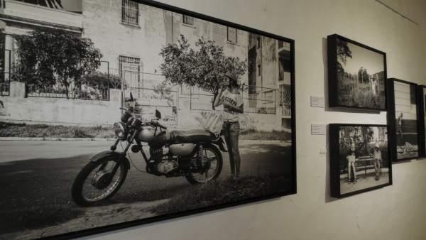 Una de las fotografías de José D. Bey que se muestran en Mirambel