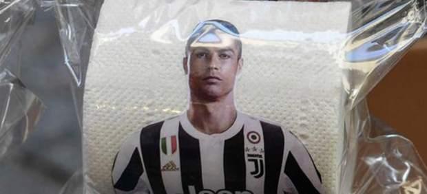 Papel higiénico de Cristiano Ronaldo
