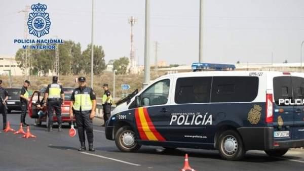 Dispositivo de Policía Nacional