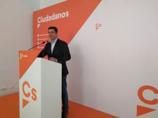 Sergio Romero, portavoz de Ciudadanos en la provincia de Cádiz