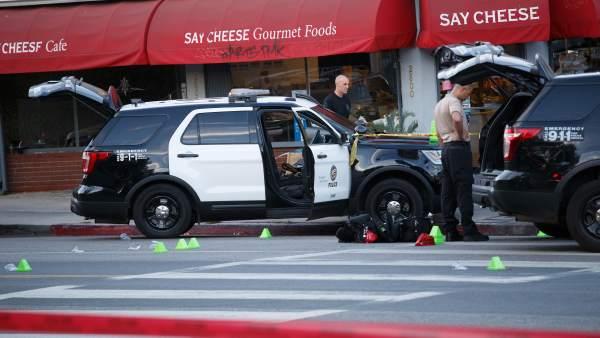 El atraco a un supermercado en Los Ángeles se ha saldado con una mujer muerta