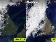 Reino Unido deja de ser verde por la falta de lluvias y el calor