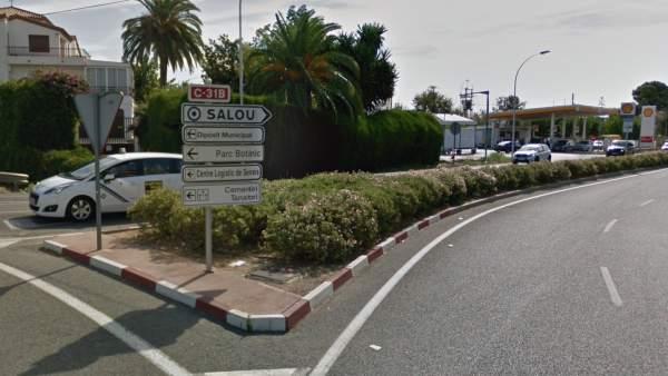 Una de las entradas a la localidad tarraconense de Salou
