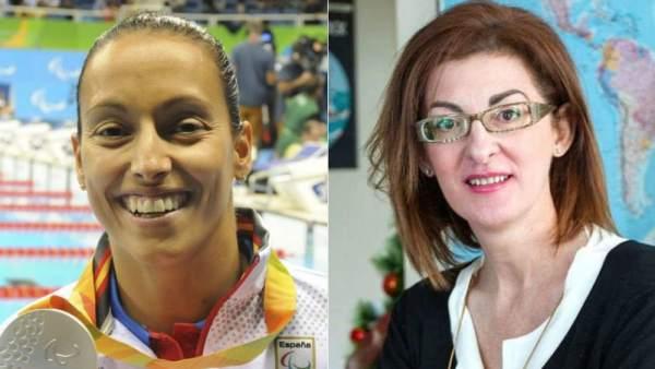Teresa Perales y Maite Pagazaurtundúa