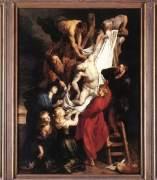 'Descendimiento de Cristo' de Rubens